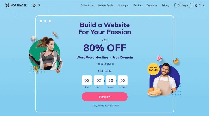 Hostinger Webhosting