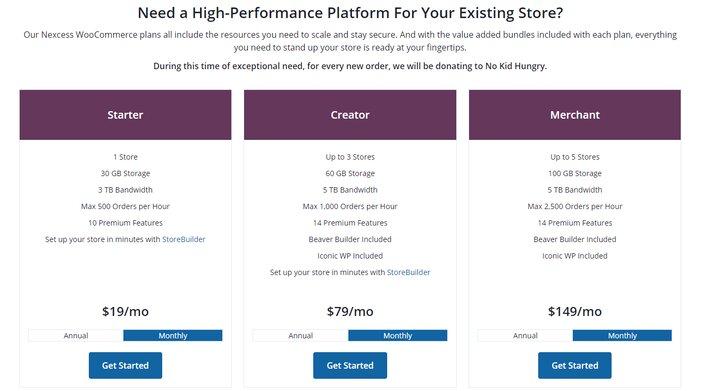 Liquid Web Managed WooCommerce Hosting Pricing