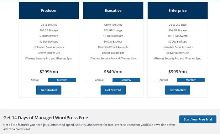 Liquid Web Managed WordPress Hosting Pricing Others
