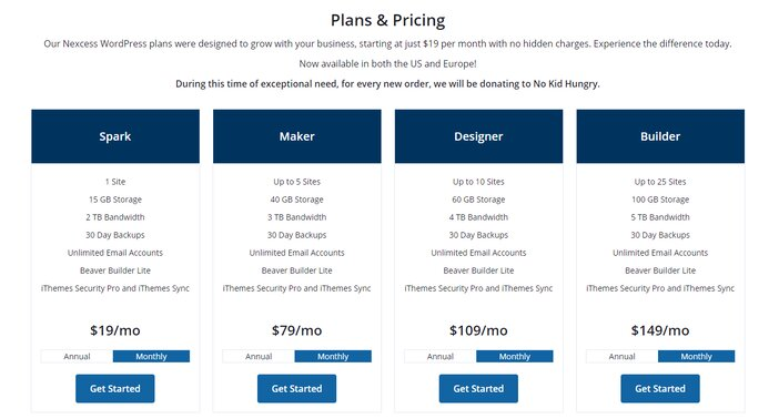 Liquid Web Managed WordPress Hosting Pricing