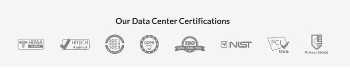Atlantic Web Hosting Certifications
