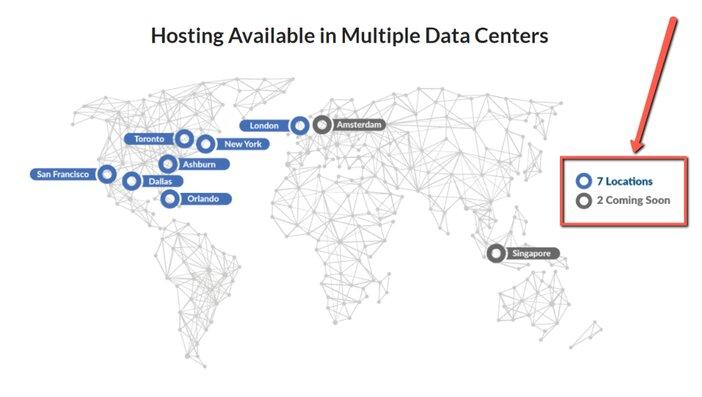 Atlantic Web Hosting Data Center