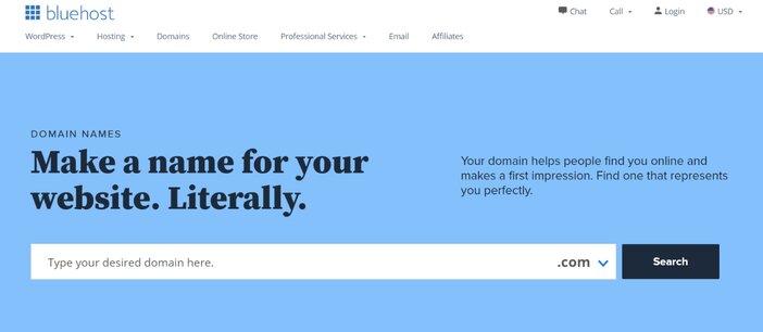 Bluehost Domain Name Checker