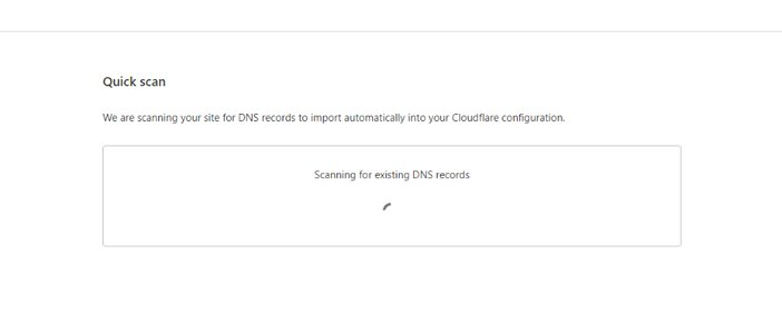Cloudflare Scanning Your Website for DNS Records