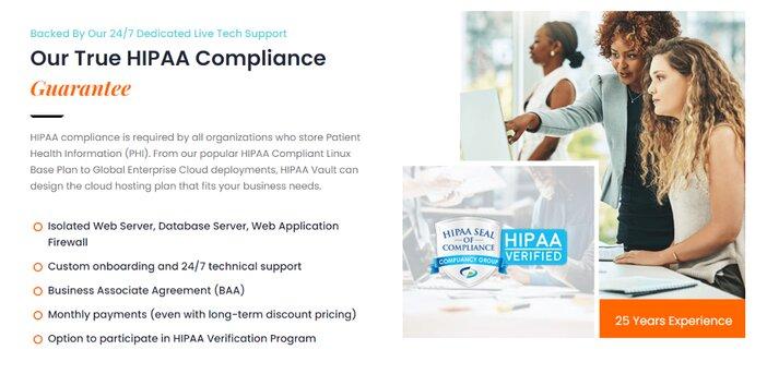 HIPAA Vault Certification