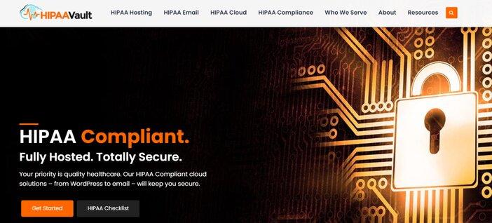 HIPAA Vault Hosting