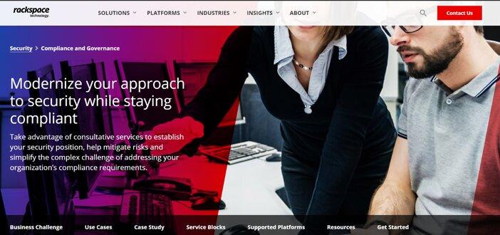 Rackspace HIPAA Web Hosting